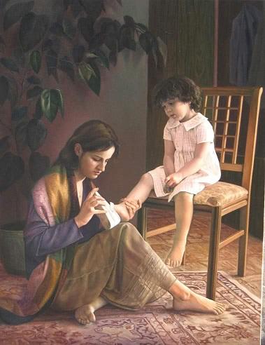 مادر، فرشته روی زمین...(محمدرضا باقرپور)
