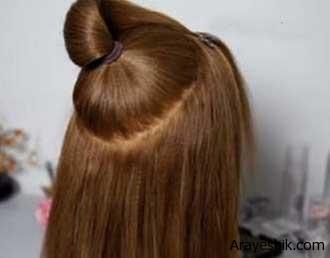بافت مو با مدل شینتون
