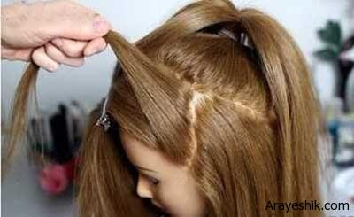 بافت مو به مدل شینتون