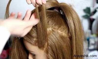 بافت مو به مدل شینتو