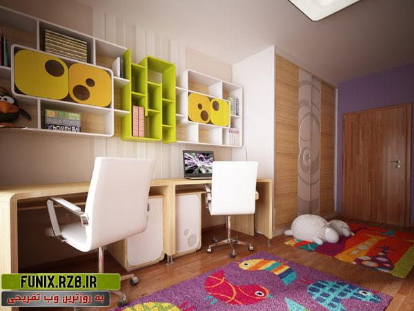 دکوراسیون اتاق یک کودک 3 ساله