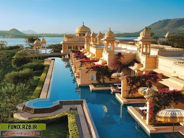 تصاویری از یک هتل لوکس و رویایی در هند