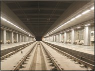 بهرهبرداری آزمایشی ازخط ٢ قطارشهری در سال آینده