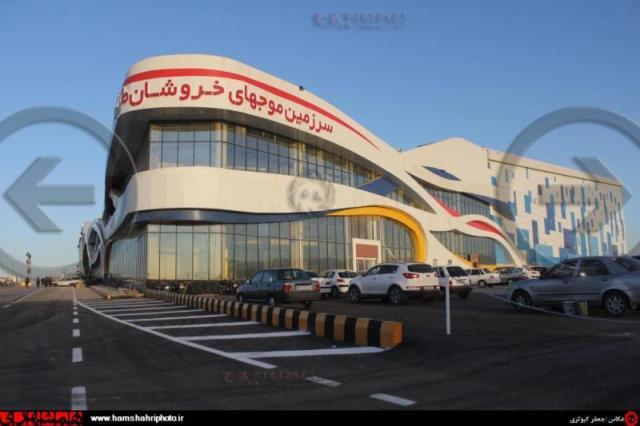بزرگترین پارک آبی سرپوشیده جهان در مشهد افتتاح شد