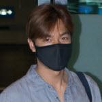 (Lee Min Ho @ Incheon AirPort From LA (5th Series - لی مین هو در فرودگاه