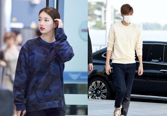 Lee Min-ho, Suzy Spotted @ Airport On Same Day  - سوزی و لی مین هو در یک روز به فرودگاه اینچئون رسیدند