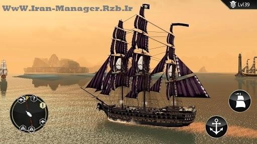 دانلود ۲٫۳٫۱ Assassin's Creed Pirates – بازی کشیش قاتل دزدان دریایی اندروید