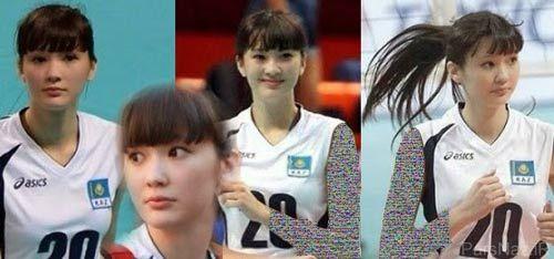 عکسهای بانوی زیبای والیبالیست آسیا در سال 2015