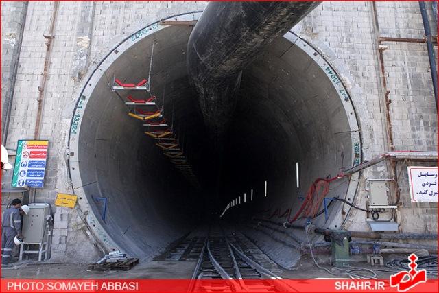 احداث تونل خط 3 مترو توسط قرارگاه سازندگی خاتم