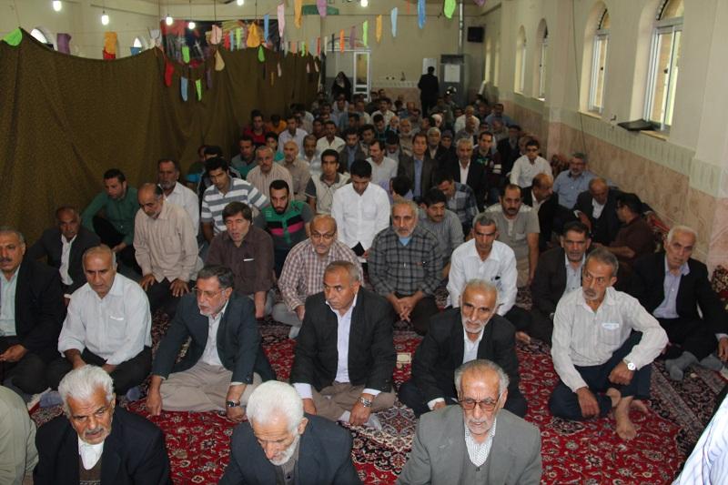 نماز عید فطر در مرگاب