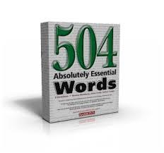 504 کلمه ضروری انگلیسی