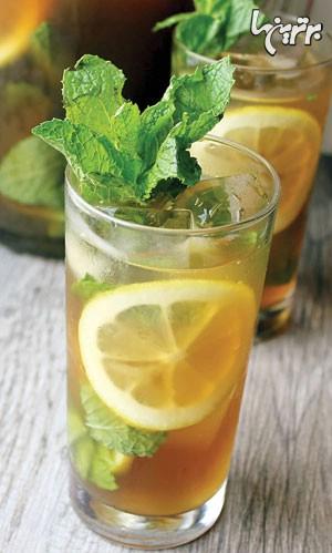 چای با طعم نعنا و لیمو ترش