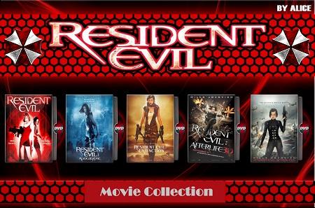 دانلود مجموعه فیلم های Resident Evil