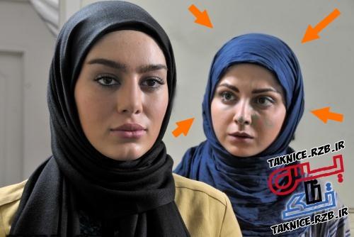 عکس های کشف حجاب سولماز غنی در خارج از کشور