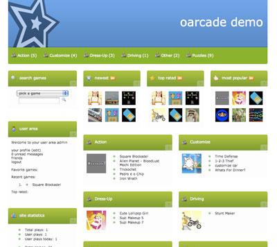 اسکریپت بازی آنلاین Oarcade