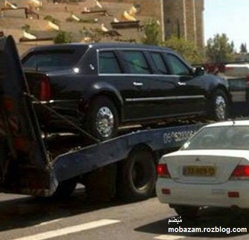 خودروی ویژه فوق امنیتی اوباما + عکس