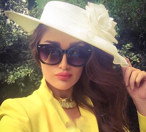 عکس های جذاب و جدید طلا گلزار مدل ایرانی در 2015