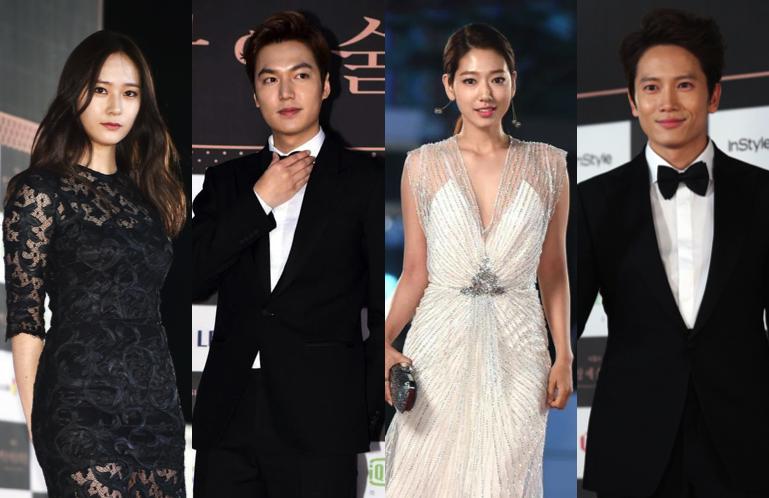 Lee Min Ho, Park Shin Hye, Yoo Chun,walk the red carpet at the 51st Baeksang Arts Awards- لی مین هو ،پارک شین های ، یو چون و بسیاری از بازیگر