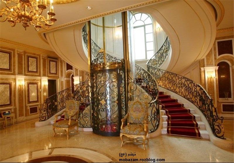 ویلای اختصاصی شاه سعودی در سواحل فرانسه  + 10 عکس از این ویلا