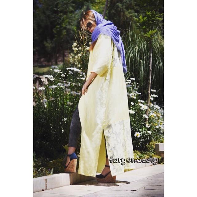مدل مانتو دخترانه تابستانی ایرانی