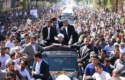 دفتر رییس جمهوری از استقبال مردم کردستان قدردانی کرد