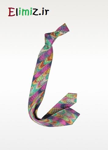 مدل کراوات رنگی