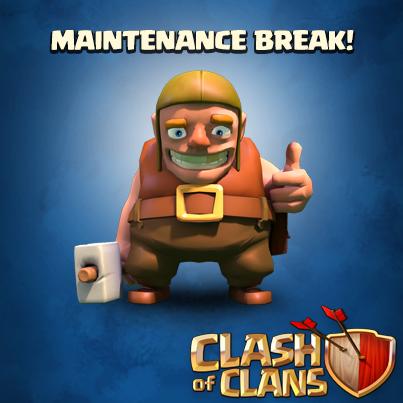 بازی به maintenance رفت