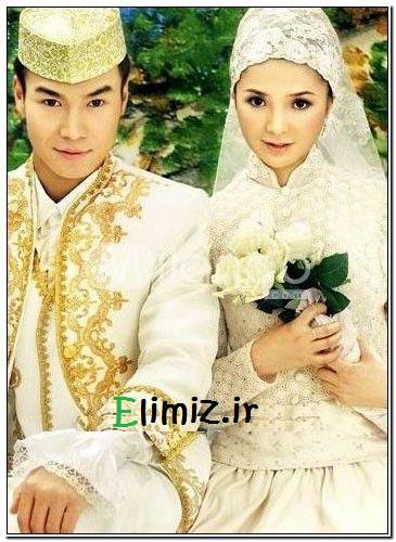 مدل لباس عروس شرقی