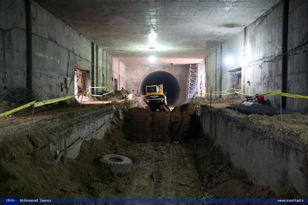 بازدید شهردار از پروژه خط 2 قطارشهری+تصاویر