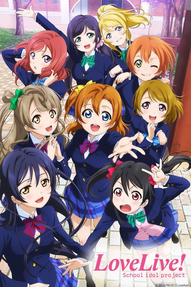 دانلود انیمه Love Live! School Idol project