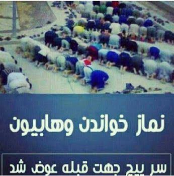 نماز خواندن وهایت