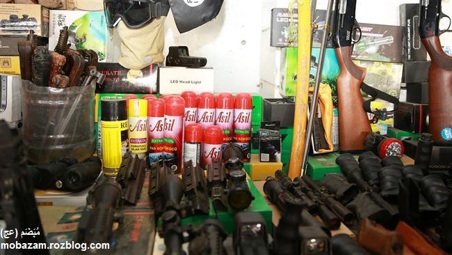 فروشگاه سوغات داعش در موصل + تصاویر