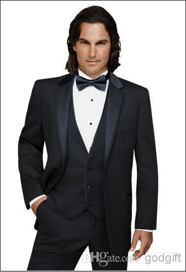 مدلهای جدید کت و شلوار مردانه رنگ مشکی