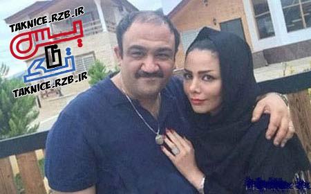 عکس جدید مهران غفوریان در کنارهمسرش