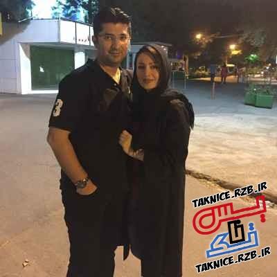 تک عکس شیلا خداداد در کنار همسرش