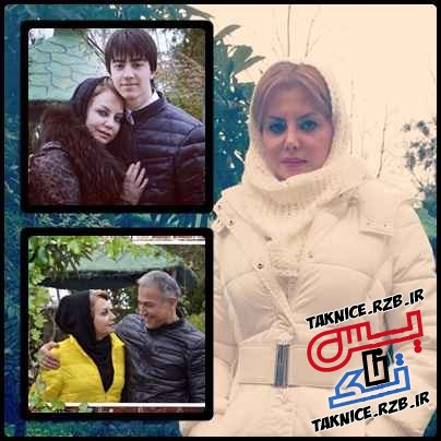 عکس های جدید زیبا هاشم زاده و همسرش دانیال حکیمی