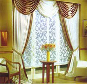 تأثیر تزئین پرده ها و پنجره ها در زیبایی خانه