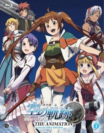 دانلود انیمه Eiyuu Densetsu: Sora no Kiseki