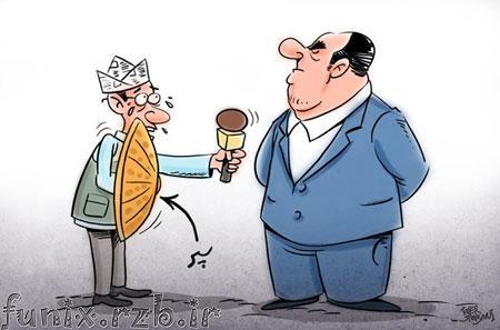 کاریکاتور به مناسبت روز خبرنگار