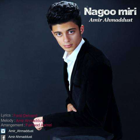 دانلود آهنگ جدید امیر احمد دوست به نام نگو میری
