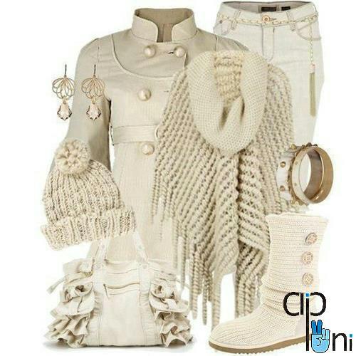ست لباس زنانه برای بیرون2015