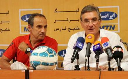 نشست خبری فرکی و برانکو چهارشنبه در هتل سپاهان