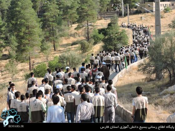 بزرگ ترین اردوی تربیتی تشکیلاتی کشور در استان فارس کلید خور