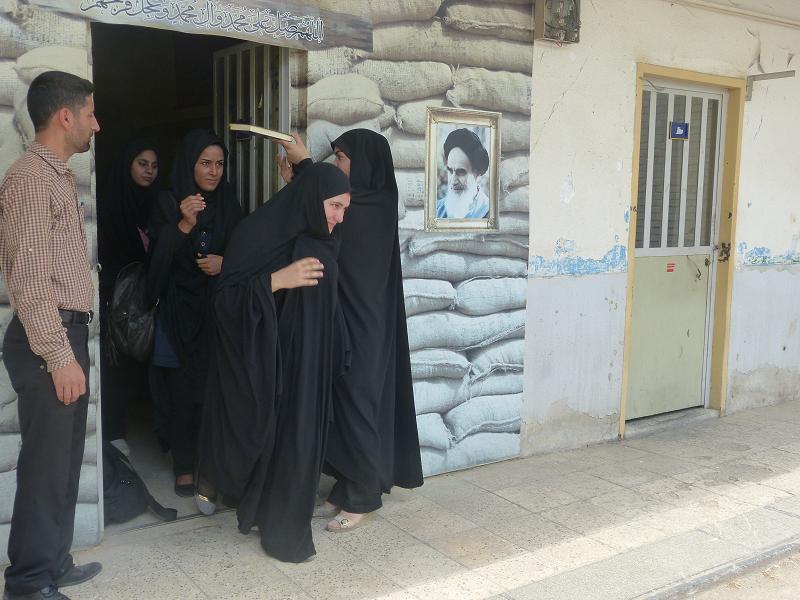 اعزام فرماندهان واحد هاي دانش آموزي به اردوي طرح شهيد جهاد مغنيه