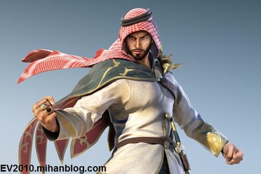 مبارز عربی Tekken 7 بالاخره با یک مدل ۳ بعدی معرفی شد