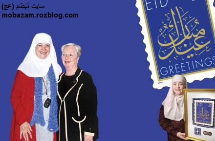 داستانی بسیار شگفت از مسلمان شدن یک زن مسیحی
