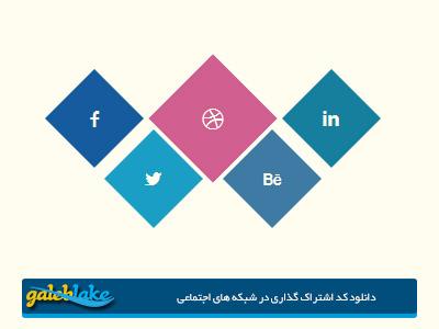 دانلود کد لینک صفحه شما حرفه ای مطالب در شبکه های اجتماعی