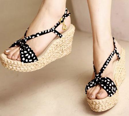 مدل کفش صندل دخترانه تابستانی سری سوم