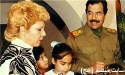 همسر «صدام» درگذشت + تصویر
