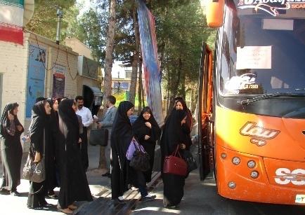 اعزام 88 دانش آموز دختر زائر اولی استان به زیارت بارگاه رضوی